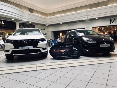 DS 7 CROSSBACK & DS 3 Cafe Racer in Bloomfield Shopping Centre