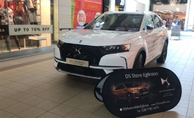 DS 7 Crossback at Fairhill Shopping Centre