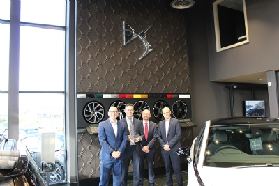 DS Store Eglinton Awarded DS Automobiles 'Entrepreneurial Award'
