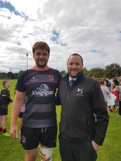 DS Store NI visits Ulster Rugby Open Day Training!