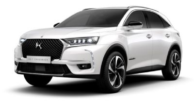 DS 7 CROSSBACK Pearl White